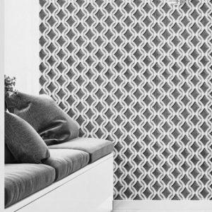 ταπετσαρια τοιχου 3D γεωμετρικο σχεδιο 5023-21d
