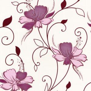 ταπετσαρια τοιχου λουλουδια 1002-56