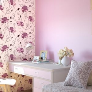 ταπετσαρια τοιχου λουλουδια 1002-56d