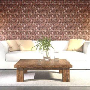ταπετσαρια τοιχου τουβλακι 5015-63d