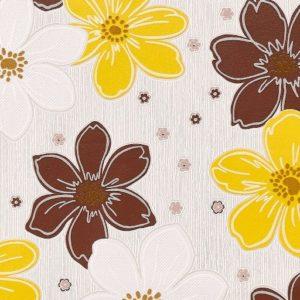 ταπετσαρια τοιχου λουλουδια 5024-61
