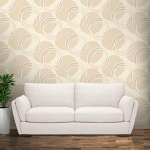 ταπετσαρια τοιχου κυκλοι 60745d