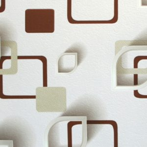 ταπετσαρια τοιχου 3D τετραγωνα 96901