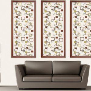 ταπετσαρια τοιχου 3D τετραγωνα 96901d