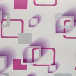 ταπετσαρια τοιχου 3D τετραγωνα 96905
