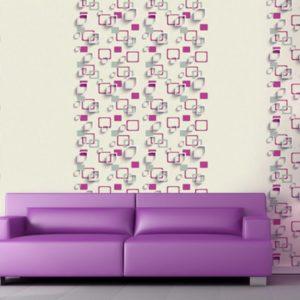 ταπετσαρια τοιχου 3D τετραγωνα 96905d