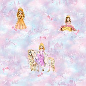 ταπετσαρια τοιχου πριγκιπισσες 480-01