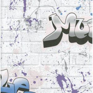 ταπετσαρια τοιχου graffiti 8003-02