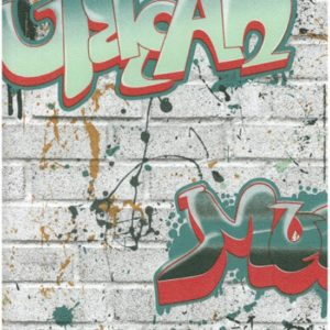 ταπετσαρια τοιχου graffiti 8003-03