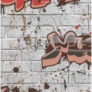 ταπετσαρια τοιχου graffiti 8003-09