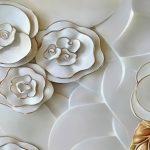 φωτοταπετσαρια τοιχου λουλουδια 3687