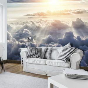 φωτοταπετσαρια τοιχου συννεφα 10109