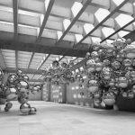 φωτοταπετσαρια τοιχου 3D σφαιρες 10132