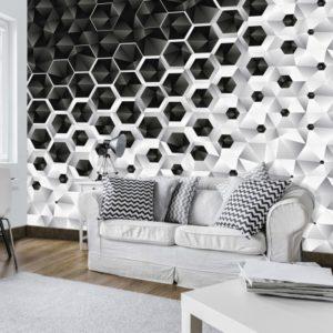 φωτοταπετσαρια τοιχου 3D κρυσταλλα 10685