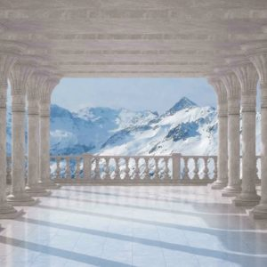 φωτοταπετσαρια τοιχου βουνα 1365