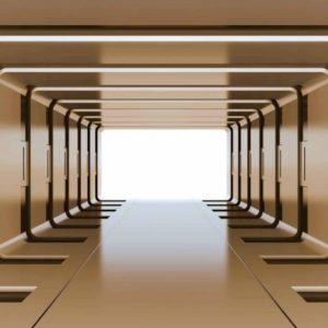 φωτοταπετσαρια τοιχου 3D διαδρομος 2800