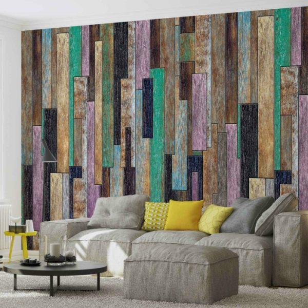 φωτοταπετσαρια τοιχου ξυλο 3010