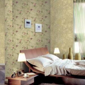 ταπετσαρια τοιχου φλοραλ 3807