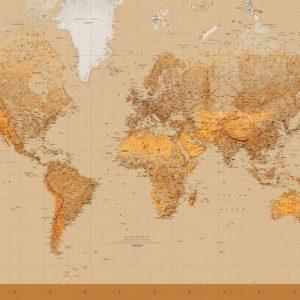φωτοταπετσαρια παγκοσμιος χαρτης 153