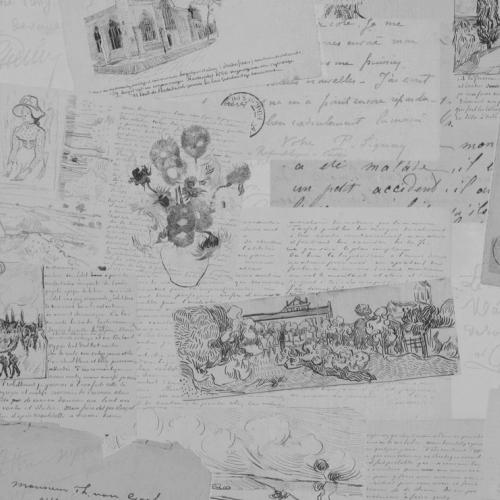 ταπετσαρια τοιχου Van Gogh 17202