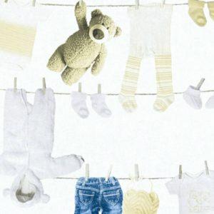 παιδικη ταπετσαρια παιδικα ρουχα 35844-1