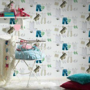 παιδικη ταπετσαρια παιδικα ρουχα 35844-2