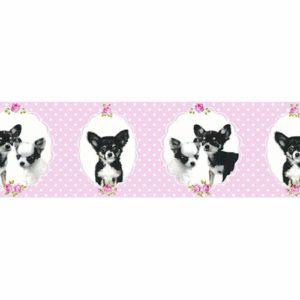 παιδικη μπορντουρα σκυλακια 35850-2