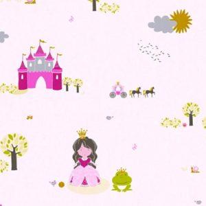 παιδικη ταπετσαρια πριγκιπισσες 35852-1