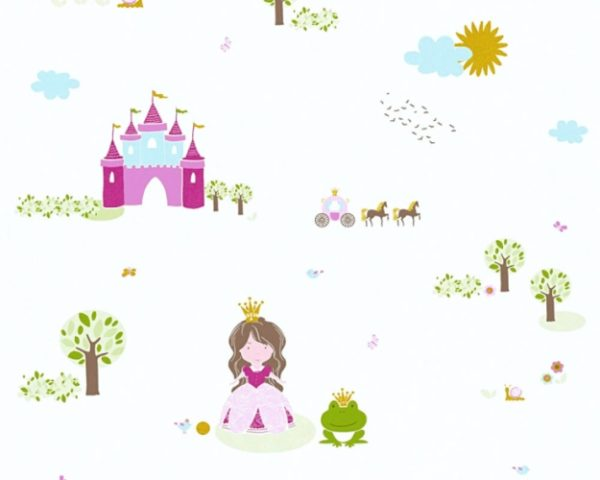 παιδικη ταπετσαρια πριγκιπισσες 35852-2