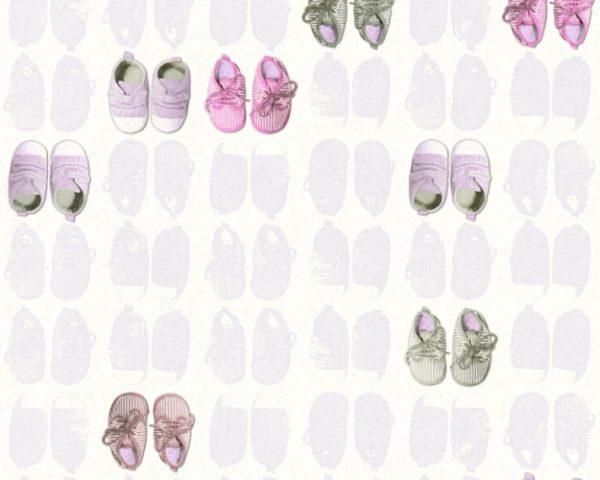 παιδικη ταπετσαρια παπουτσακια 35862-1