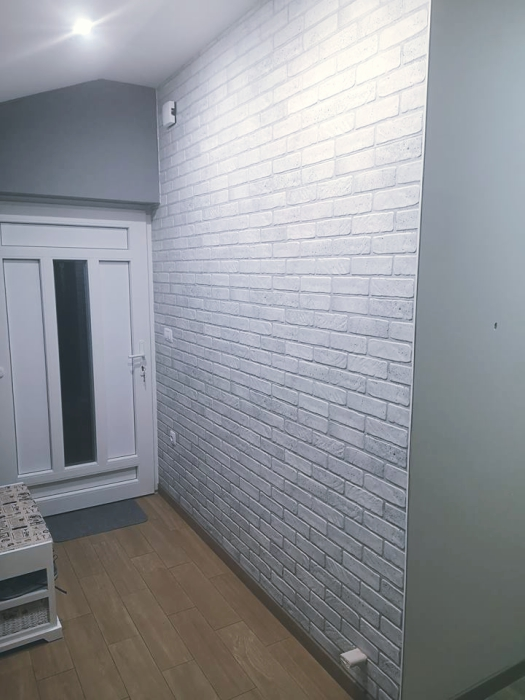 3D PVC panel τουβλακι 0319