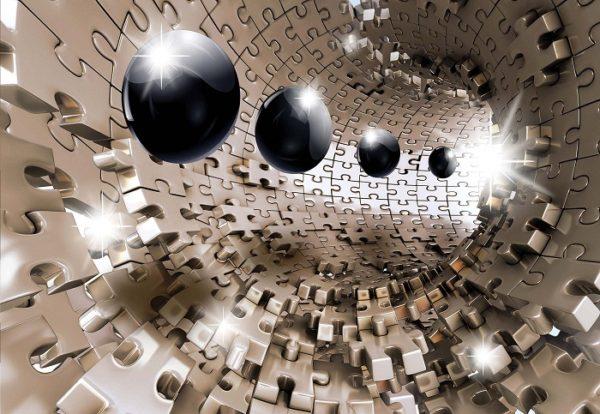 φωτοταπετσαρια τοιχου 3D παζλ 10233