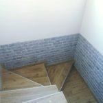 3D PVC panel τουβλακι 6014 54r