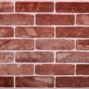 3D PVC panel τουβλακι 0272