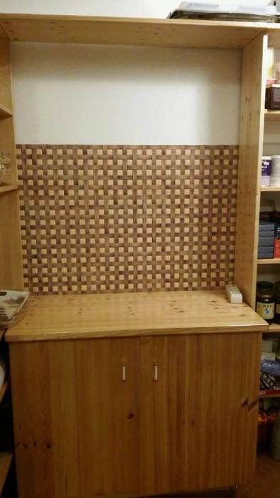 3D PVC panel ψαθα 1972