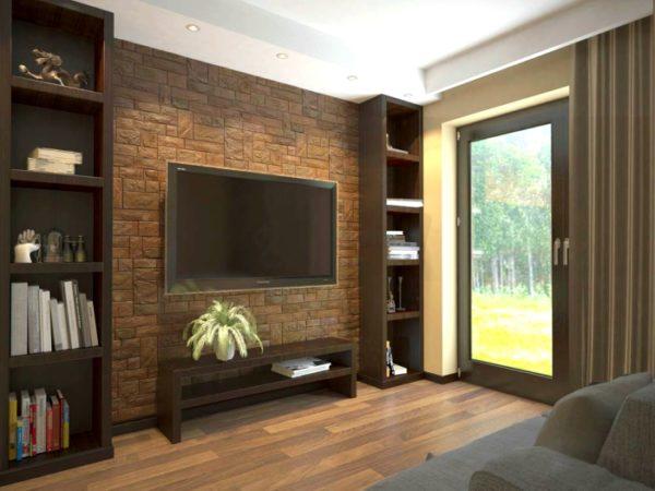 3D PVC panel πετρα 2597