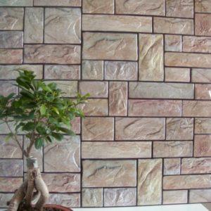 3D PVC panel πετρα 2610