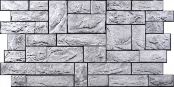 3D PVC panel πετρα 2870