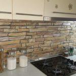 3D PVC panel πετρα 3891