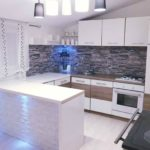 3D PVC panel πετρα 4614