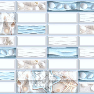 3D PVC panel θαλασσα 5956