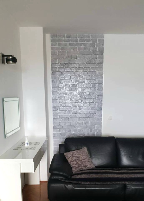 3D PVC panel τουβλακι 6014