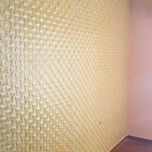 3D PVC panel ψαθα 6113