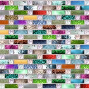 3D PVC panel ψηφιδα 6397