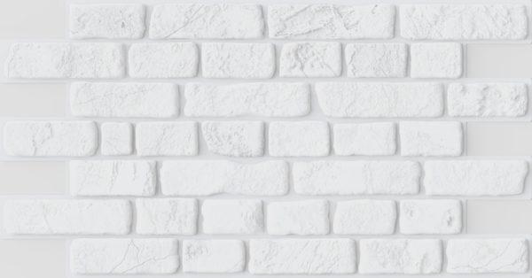 3D PVC panel τουβλακι 8490