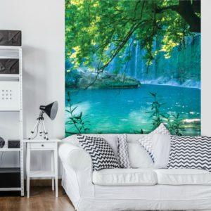 φωτοταπετσαρια τοιχου λιμνη 1783A