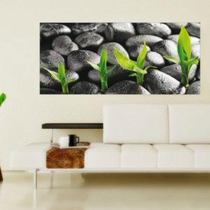 φωτοταπετσαρια τοιχου βοτσαλα 1-2719