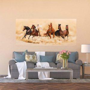 φωτοταπετσαρια τοιχου αλογα 1-2748