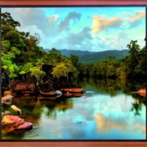 φωτοταπετσαρια τοιχου λιμνη 1-2754