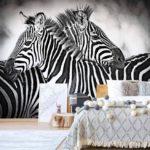 φωτοταπετσαρια τοιχου ζεβρες 10092